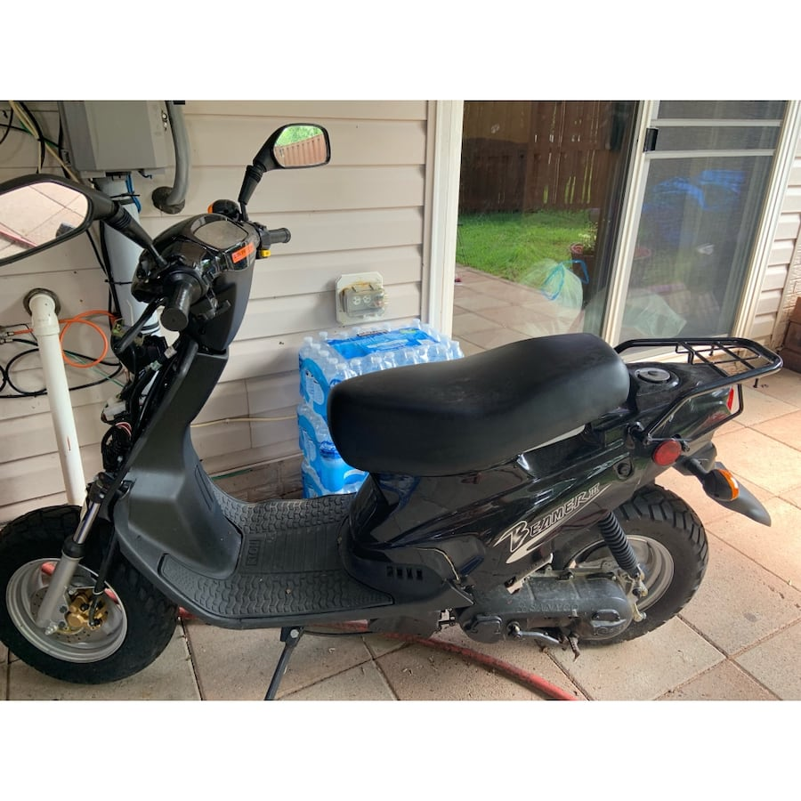 Black Beamer iii (Beamer 50) scooter 0