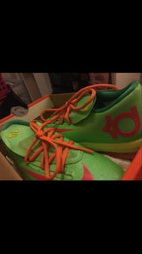 Kevin Durant Flash Lime Atomic Red