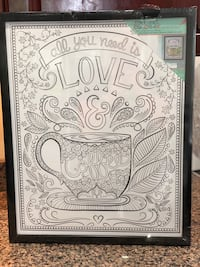 Color-in Coffee Poster Potomac, 20854