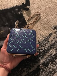 Zagliani python skin small bag limited edition!!!! Toronto