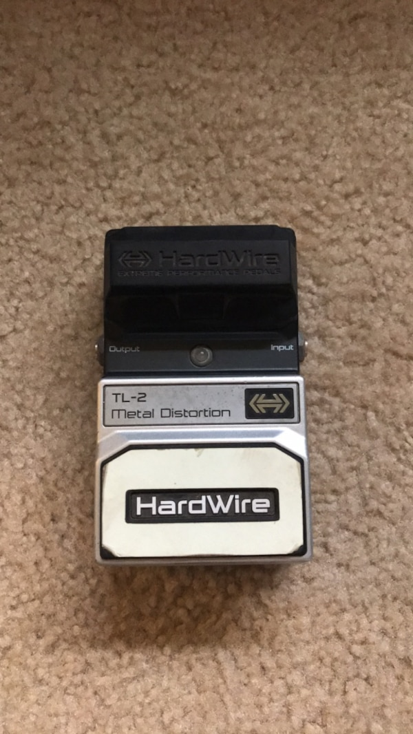 Hardwire metal distortion pedal