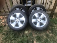 """Acura 18"""" wheels(great condition) with Michelin Pilot HX MXM4 P235R18 Tires  Annandale, 22003"""