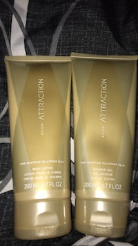 Attraction shower gel and lotion for women  Glen Burnie, 21061