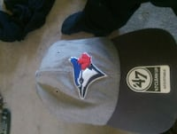 black and gray bluejays fitted  cap Airdrie, T4B 0H7