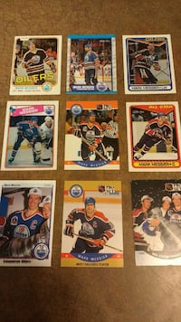 NHL trading card collection