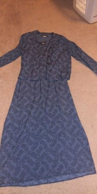 women's periwinkle blue 2pc jacket/ dress Lawrenceville, 30046