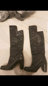 Country road black leather boots Seven Hills, 2147