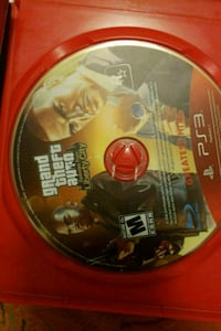 Grand Theft Auto Five PS3 game disc Toronto, M1P 3J2