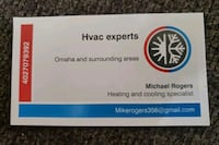 Air conditioning  or heating  Omaha