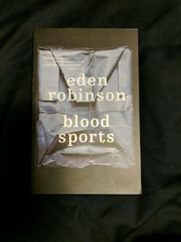Blood Sports by Eden Robinson  Vaughan, L4H