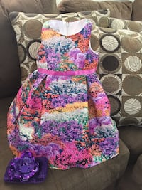 2t girls dress. Worn once inside. $15 or best offer  Arlington, 22204