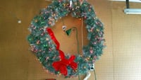 Huge Lighted Christmas Wreath East Patchogue, 11772