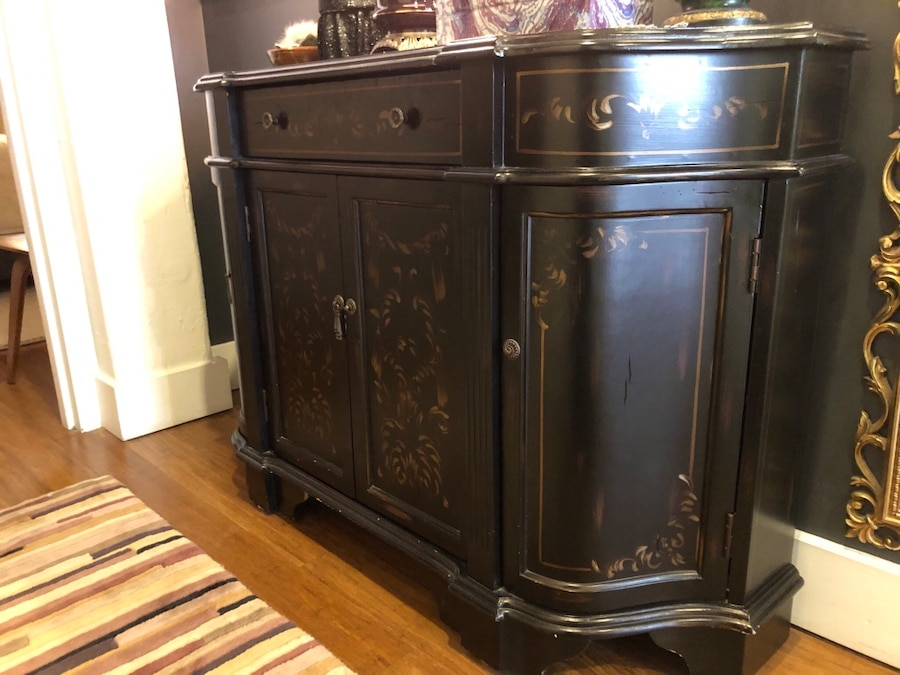 Credenza For Sale Perth : Used painted credenza sideboard for sale in new york letgo