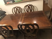 China Buffet and Table (6ft or 8ft table also 6 chairs included) Clarksburg