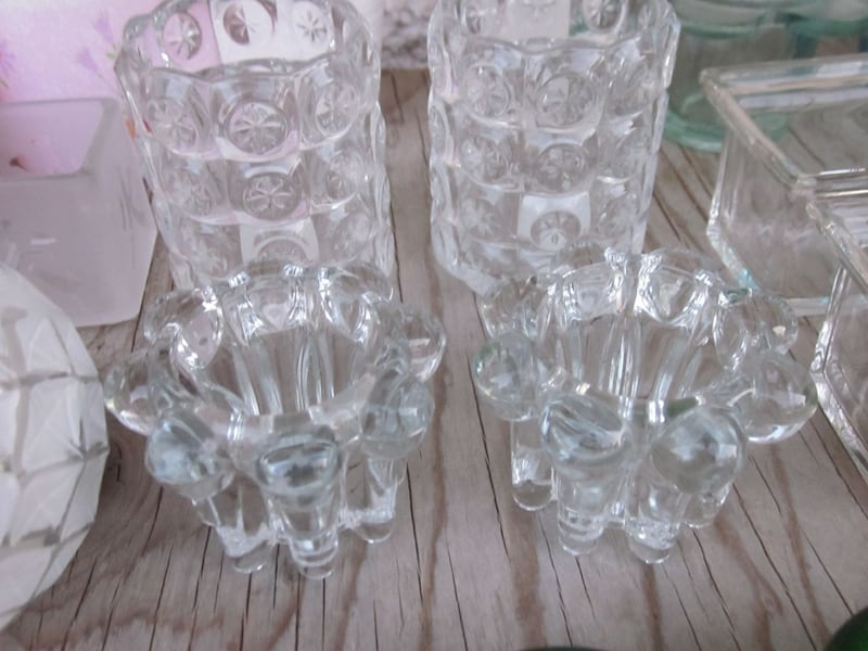 Lot of 27 Candle and Tealight Candle Holders   cdbeba68-f116-4aef-8ef5-bbb32abaf980