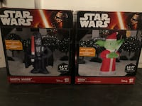Inflatable Christmas Star Wars Characters Delta, V4E 2Z5