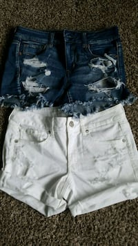 2- Size 8 American Eagle Shorts