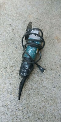 black and green corded angle grinder Los Angeles, 90042