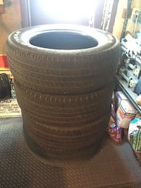 Used Goodyear Wrangler SRA 275/60/20 inch all season truck tires TORONTO
