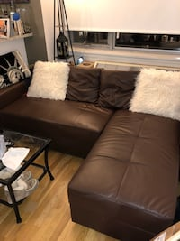 Storage sofa daybed with chaise-highly functional for tight spaces! 289 mi