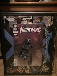 Nightwing 52 Foil cover Comic book picture
