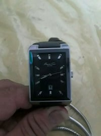 black and silver smart watch 41 km