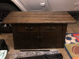 Accent table/ console tv stand