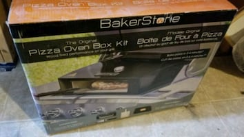 Pizza oven box kit for BBQ