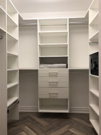 Master Walk-In Closet with Safe by California Closets (NEW)