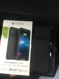 Protective battery case for IPhone XS max