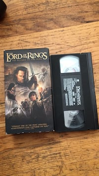 Lord of the Rings Cassette tapes  Mount Airy, 21771