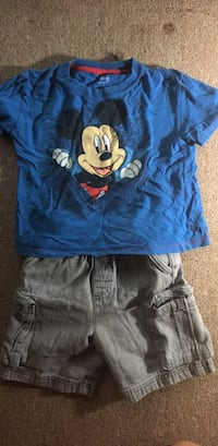 Boys Mickey Mouse Outfit, 3/4T Silver Spring, 20910