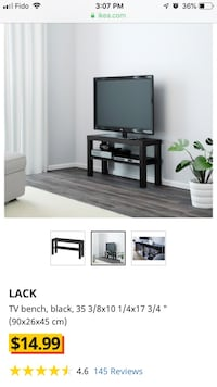 Ikea TV bench Lack Burnaby, V3N 4W6
