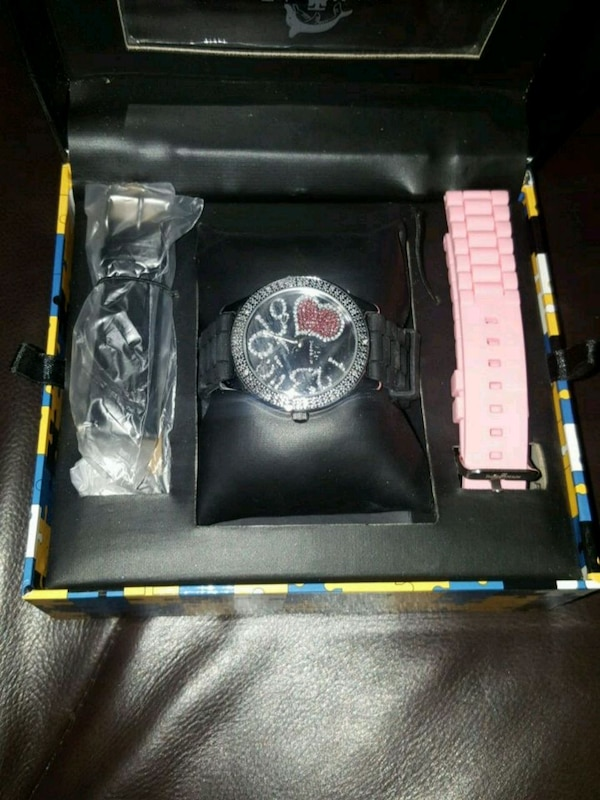 c56c5862201b Used NEW Girls Genuine Diamond accented watch for sale in Toronto ...