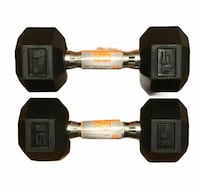 15 lb weights set brand new with stickers