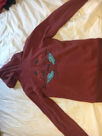 Robin jeans red hoodie size M Surrey, V3S 0X3