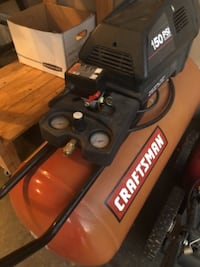 black and red Craftsman pressure washer Springfield