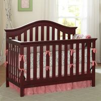 baby's brown wooden crib Alexandria, 22309