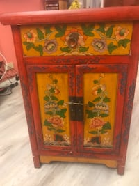 Pretty Hand-Painted Chest