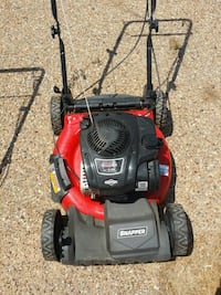 red and black snapper  push mower self propelled Lubbock, 79415