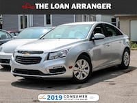 2015 Chevrolet Cruze LT with 93,488km and 100% Approved Financing Toronto