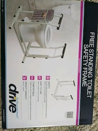 Freestand w/ magazine rack toilet stand Chicago, 60634