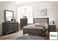 Queen Bed, Dresser, Mirror, Chest, 1 Night Stand > All Included For One Price Woonsocket