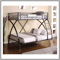 Bunk Beds Twin Over Full - $699 / $10 Down Littleton