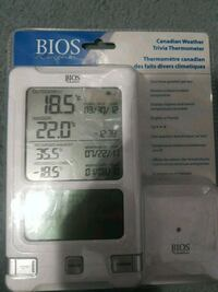 Wireless outside temperature thermometer