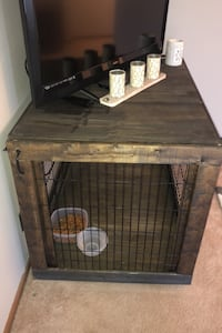 Dog cage entertainment center North Canton, 44720