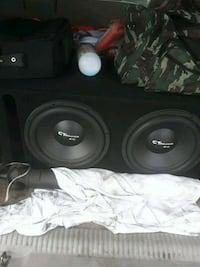 2 12 inch ct sound subs Colton, 92324