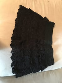 Ladies black lace shorts size medium but they run small brand new never worn Birmingham, 35223