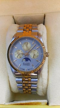 AS NEW ELGIN SPORTSMAN DRESS WATCH MINT! Edmonton, T5Z 2T1