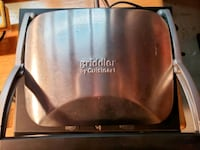 Cuisinart panini press/ griddle Kelowna, V1V 1S4